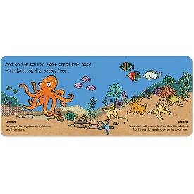 หนังสือนิทานพร้อมตัวต่อ 20 ชิ้น ชุดสัตว์ใต้ทะเลลึก