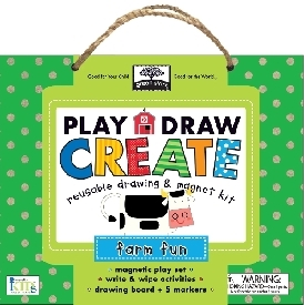 Play draw create -  farm fun