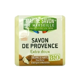 Savon de provence extra doux bio shea butter 100 g