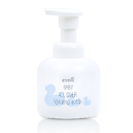Evoli baby all over foaming wash (300ml)