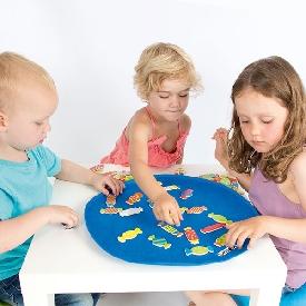 ชุดเกมค้นหาลูกกวาดหลากสี