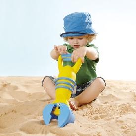 ที่หนีบและตักทราย