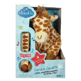 Gentle giraffe on the go