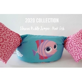 Stearns puddle jumper : 2020 collection - pink fish