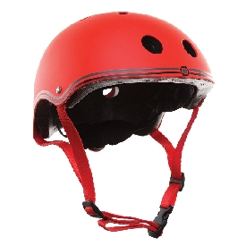 Globber helmet junior - red
