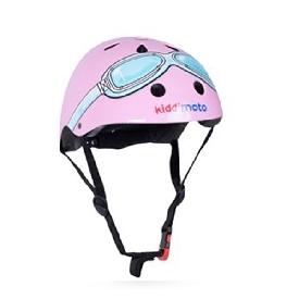 หมวกกันน็อค ลาย pink goggle