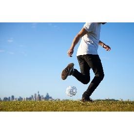 ลูกบอลตัวต่อ 3d สีขาว