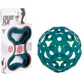 ลูกบอลตัวต่อ 3D สีเขียว