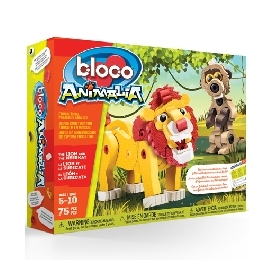 Bloco ตัวต่อสิงโต และ เมียร์แคท