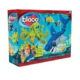 Bloco ตัวต่อชุดสัตว์น้ำ