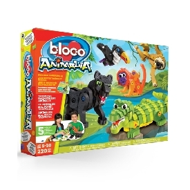 bloco - tropical forest animals