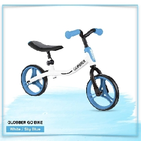 Globber Gobike White/Sky Blue