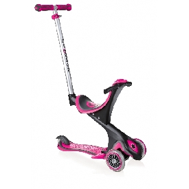 Globber scooter evo comfort 5 in 1- deep pink