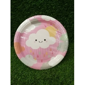 Party Paper Plate 7 inches - Little Clouds