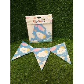 Party banners - little clouds