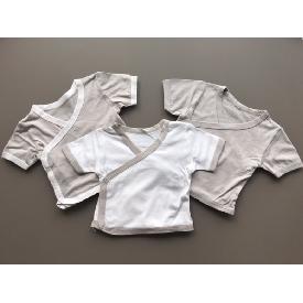 Set 3 of baby kimono onesie