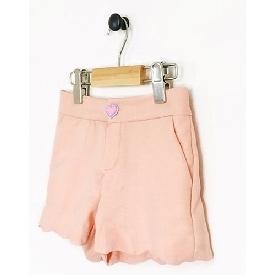 กางเกงขาสั้นสีพีช