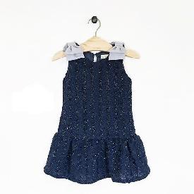 TILDA Party Dress Dark Blue