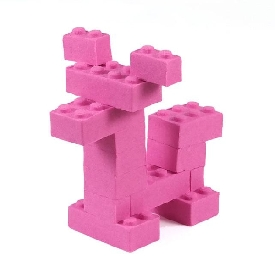 The ultimate brick maker pink