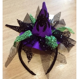 Fh1651 pretty witch headband