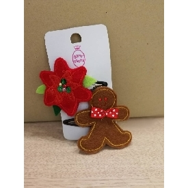 Fch1817 set of christmas hairclips 2019