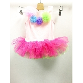 Pink ballet style with tutu