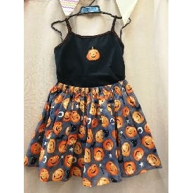 Fh2009 little pumkin (top+skirt)