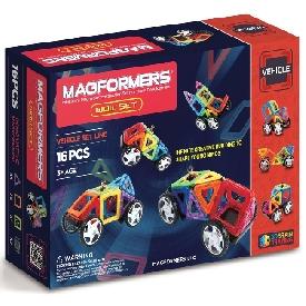 Magformers vehicle set - wow set 16 pcs