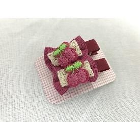 Cherry hair clip 79b