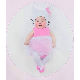 Baby little kitty costume