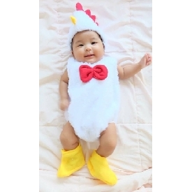 Baby little chicken jumpsuit