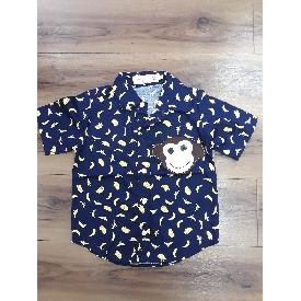 เสื้อเด็กชายลายลิง