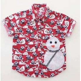 Santa boy shirt