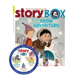 Storybox magazince with audio (cd)