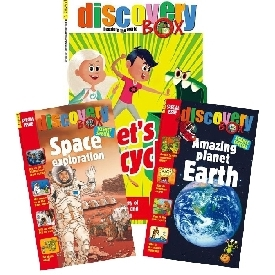 Discoverybox magazine with 2 science special issues