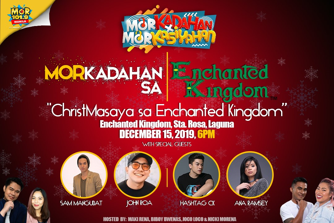 ChristmaSaya sa Enchanted Kingdom 2019