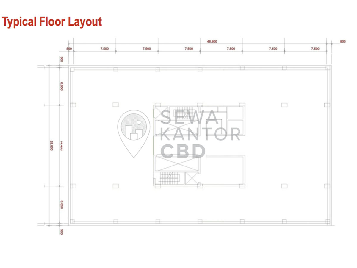 Sewa Kantor Gedung Mayapada Tower 2 Jakarta Selatan Setiabudi Sudirman Jakarta Floor Plans 3
