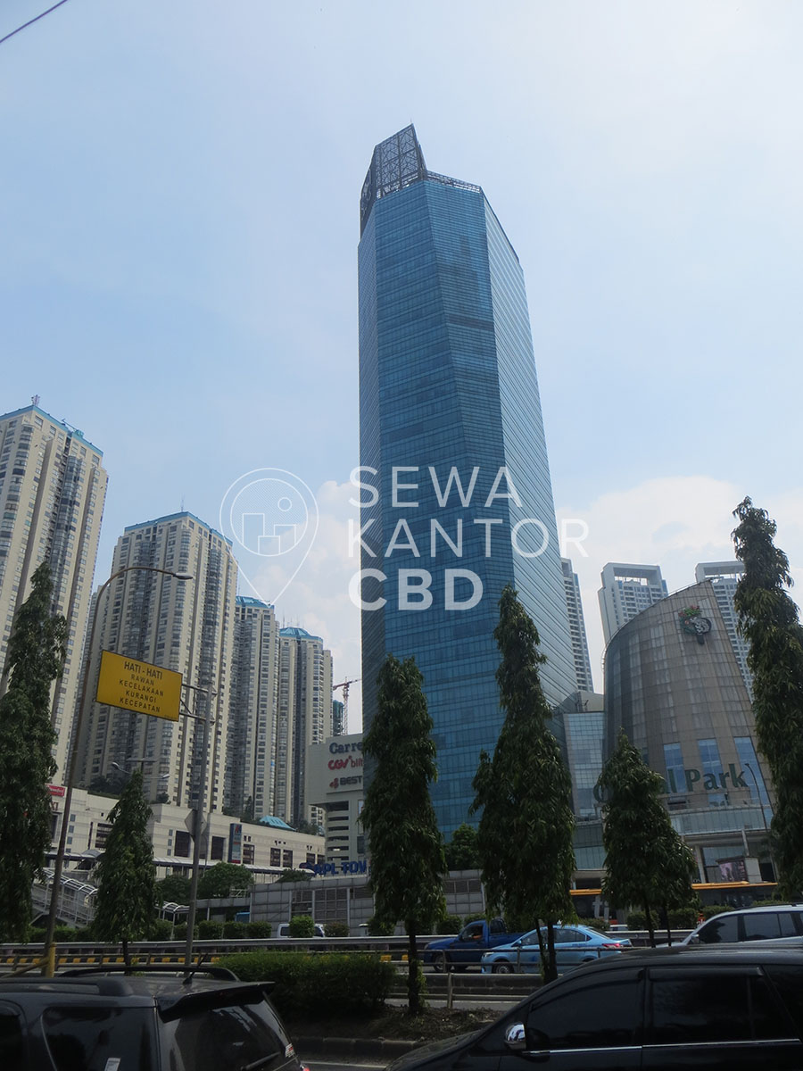 Sewa Kantor Gedung APL Tower Jakarta Barat Grogol petamburan  Jakarta Exterior 2