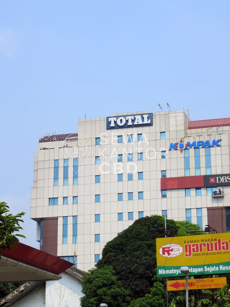 Sewa Kantor Gedung Gedung Total Jakarta Barat Grogol petamburan  Jakarta Exterior 4