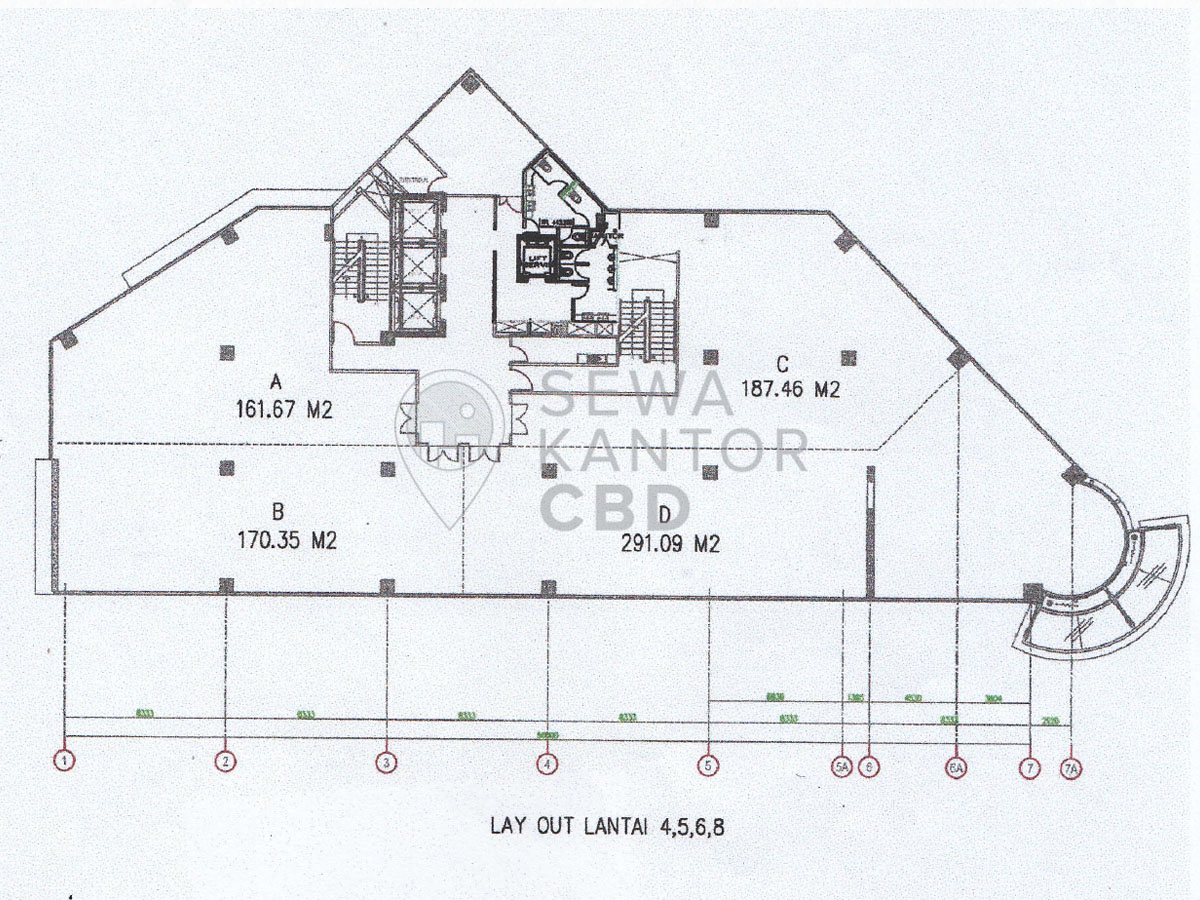 Sewa Kantor Gedung HDI Hive Jakarta Pusat Menteng  Jakarta Floor Plans 2