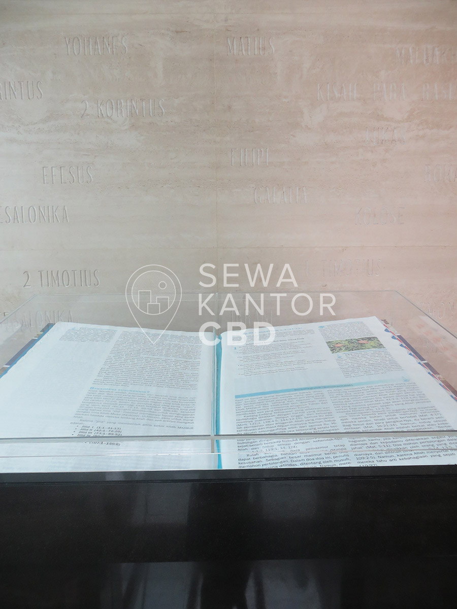 Sewa Kantor Gedung Lembaga Alkitab Indonesia (Bible Center) Jakarta Pusat Senen  Jakarta Interior 12