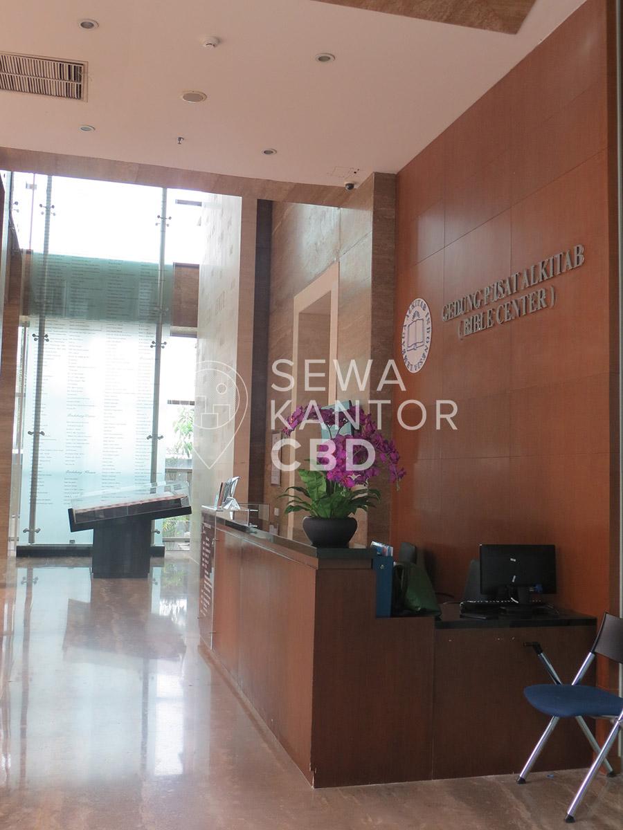 Sewa Kantor Gedung Lembaga Alkitab Indonesia (Bible Center) Jakarta Pusat Senen  Jakarta Interior 8