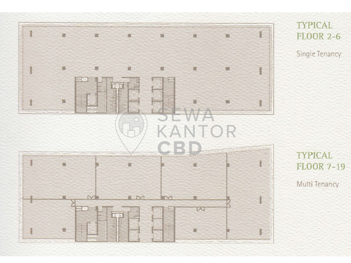 Sewa Kantor Gedung AD Premier Jakarta Selatan Pasar Minggu TB Simatupang Jakarta Floor Plans 1