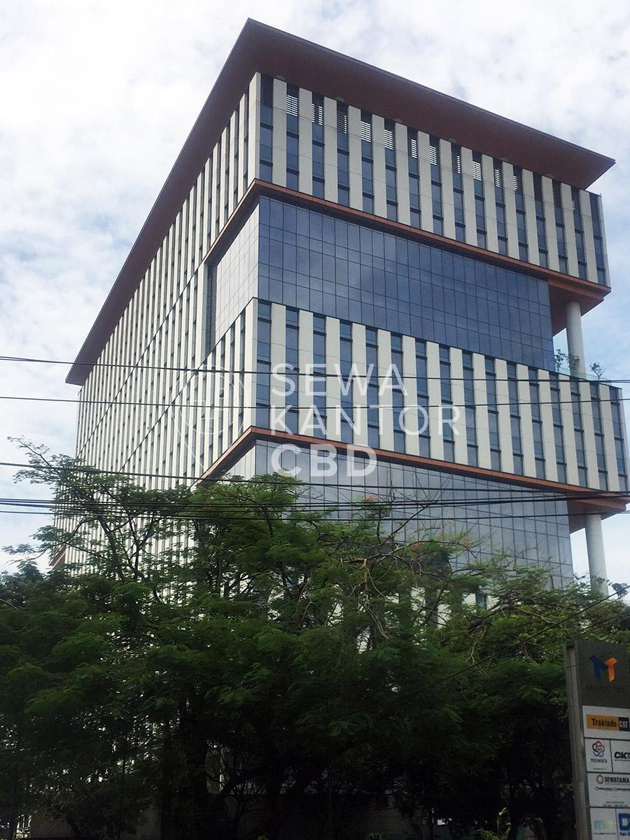 Sewa Kantor Gedung CIBIS Nine Jakarta Selatan Pasar Minggu TB Simatupang Jakarta Exterior 1