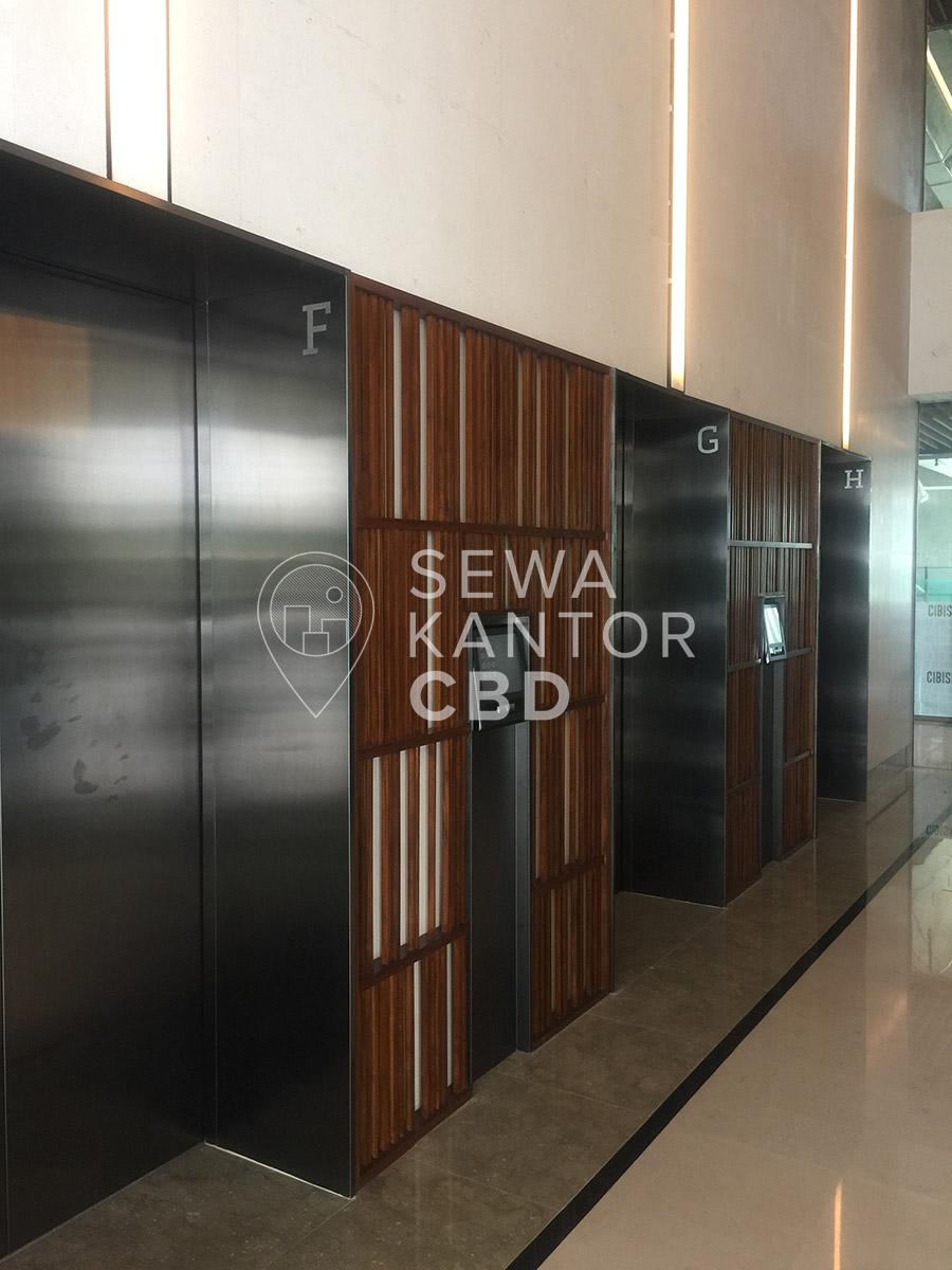 Sewa Kantor Gedung CIBIS Nine Jakarta Selatan Pasar Minggu TB Simatupang Jakarta Interior 5