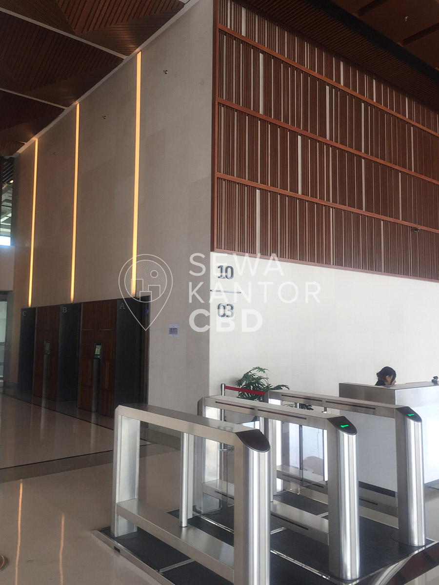 Sewa Kantor Gedung CIBIS Nine Jakarta Selatan Pasar Minggu TB Simatupang Jakarta Interior 3