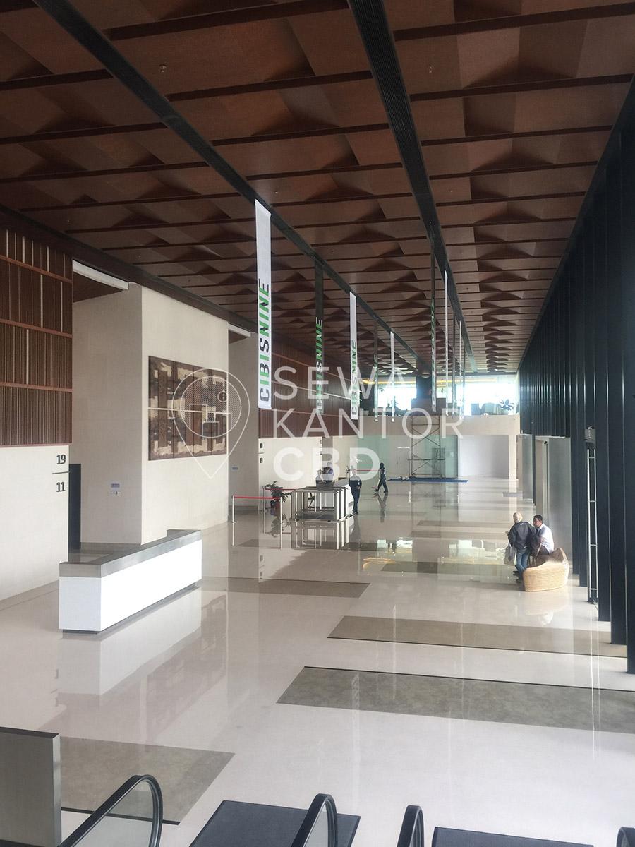 Sewa Kantor Gedung CIBIS Nine Jakarta Selatan Pasar Minggu TB Simatupang Jakarta Interior 1