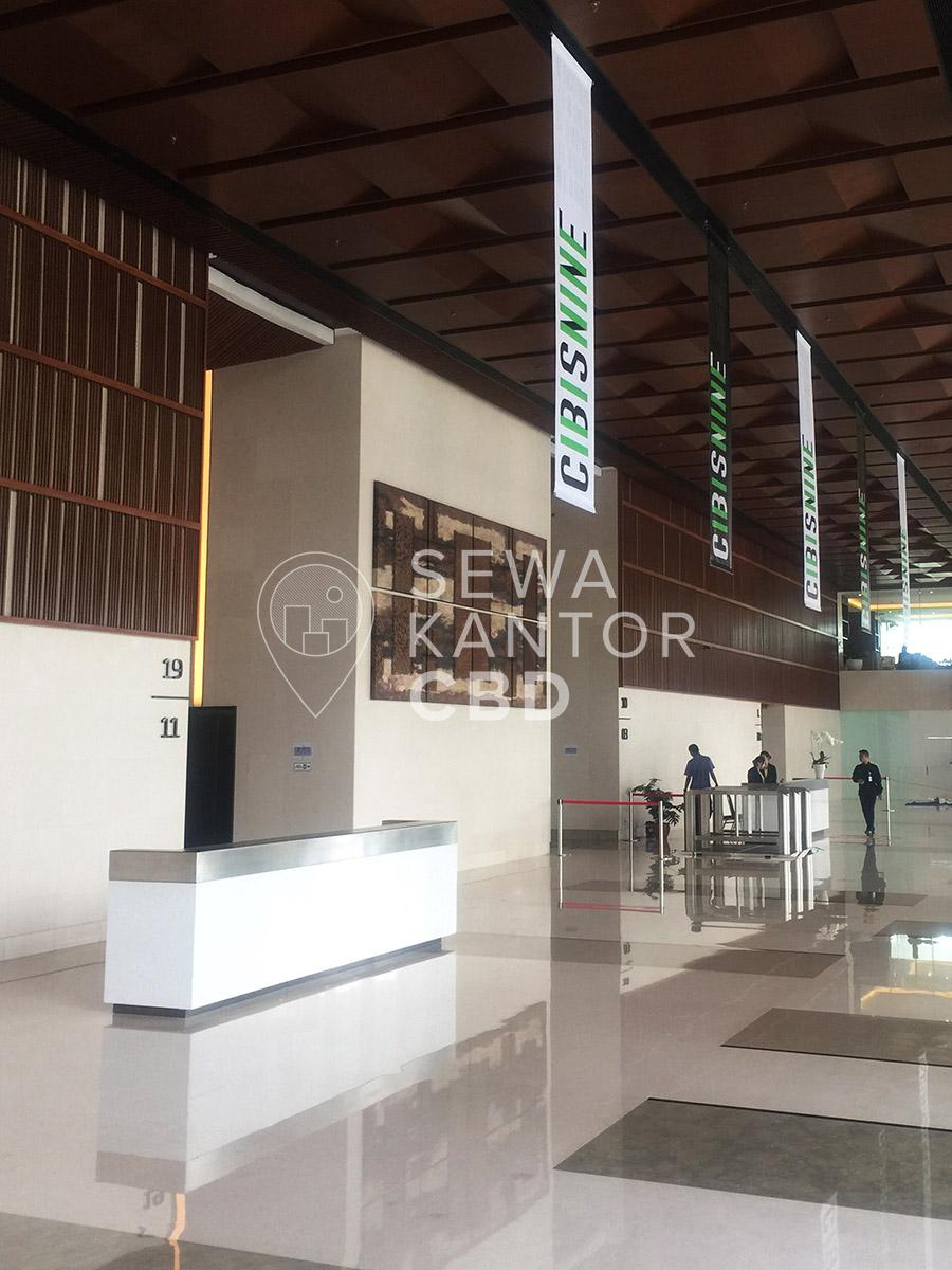 Sewa Kantor Gedung CIBIS Nine Jakarta Selatan Pasar Minggu TB Simatupang Jakarta Interior