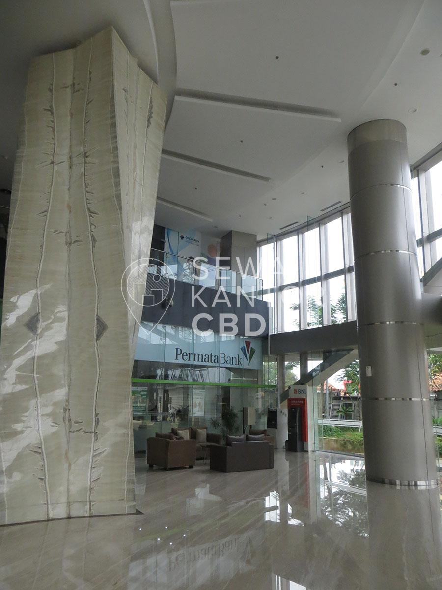 Sewa Kantor Gedung GKM Tower Jakarta Selatan Jagakarsa TB Simatupang Jakarta Interior