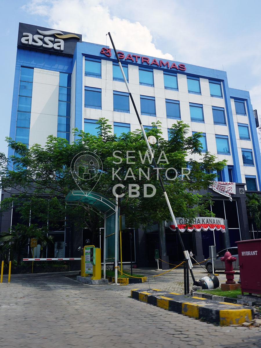 Sewa Kantor Gedung Graha Kanaan Jakarta Selatan Cilandak TB Simatupang Jakarta Exterior